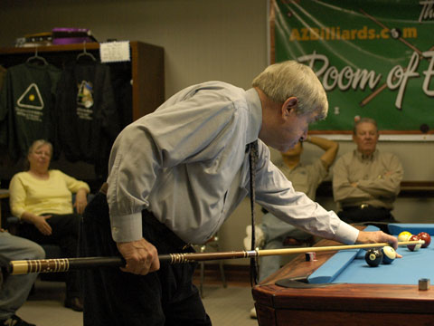 Bill Marshall -- Willie Jopling -- AZBilliards room