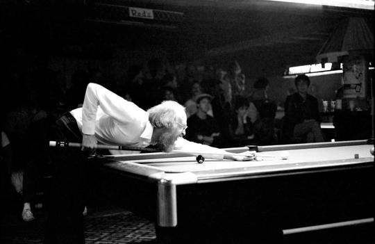 Grady Mathews Tribute - Grady pool table