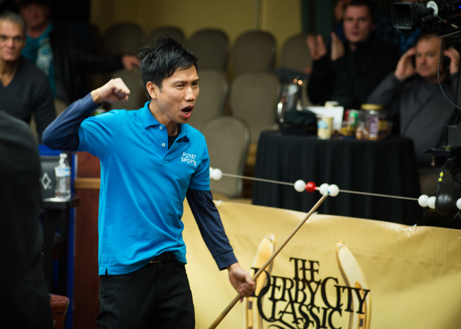 Alex Pagulayan, back-to-back Derby City One Pocket champion